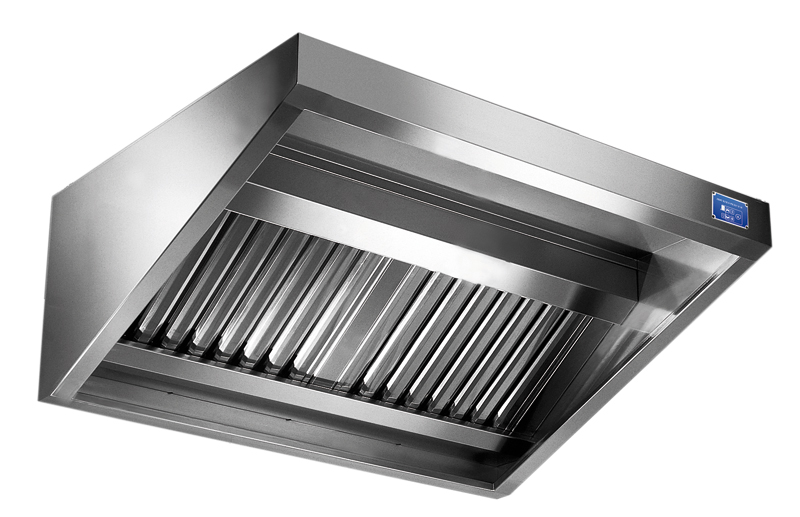 Cappe aspiranti professionali in acciaio inox metaltecnica - Cappa cucina acciaio ...