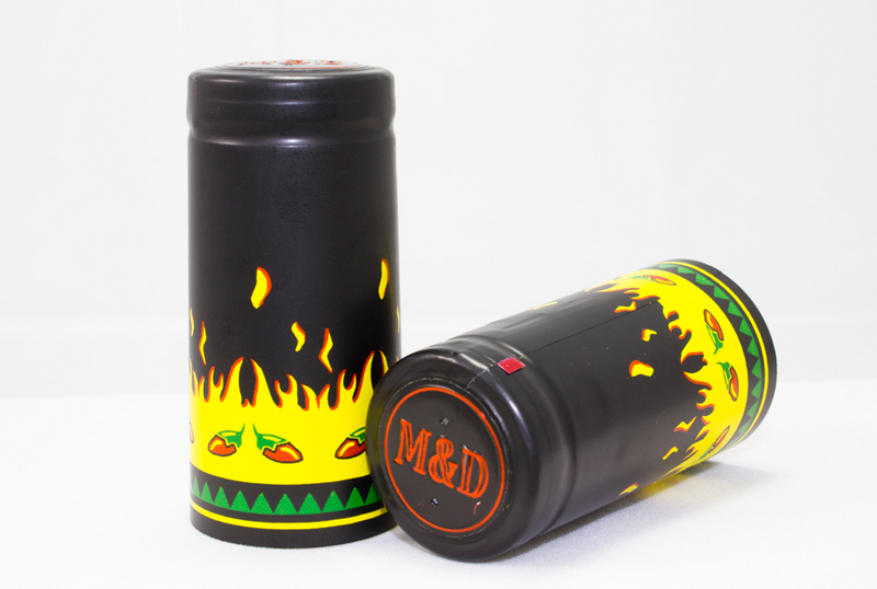 Capsule rotocalco con 2 colori/dischetto stampa a caldo