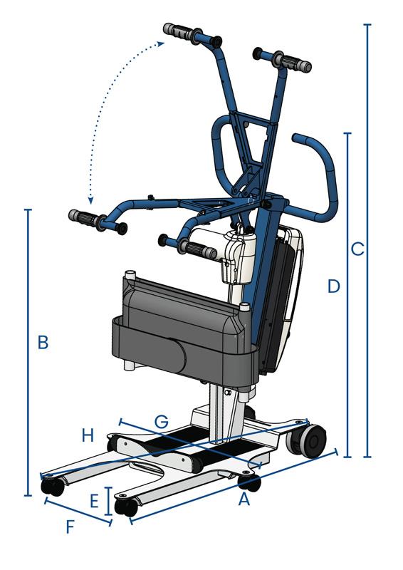 Verticalizzatore elettrico WAYUP5 - dati tecnici