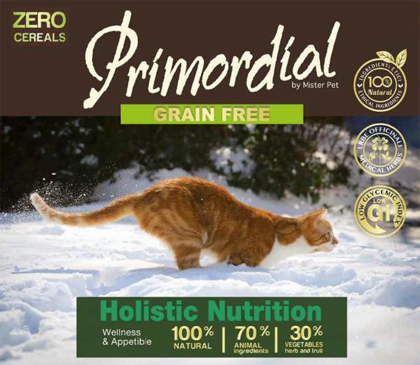 Alimenti grain free per gatti