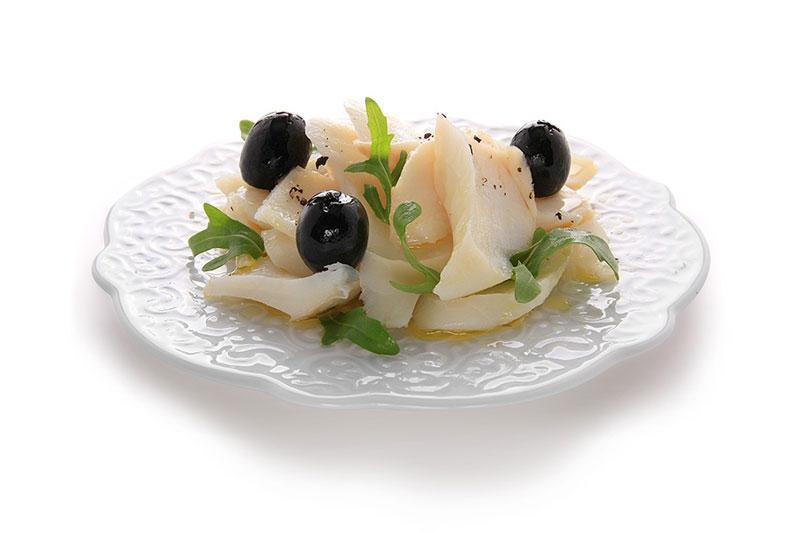 Baccalà con olive