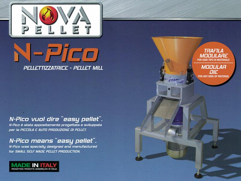 Pellettizzatrice N-Pico
