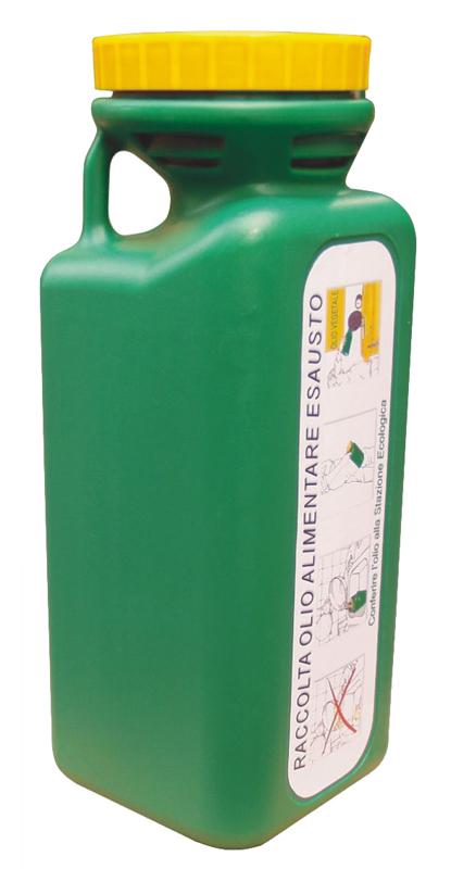 Raccolta olio per utenze domestiche