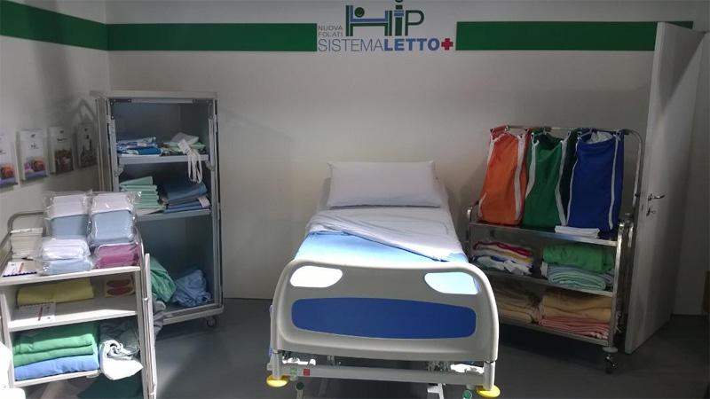 Biancheria per letto sanitario nuova folati - Letto ospedaliero ...