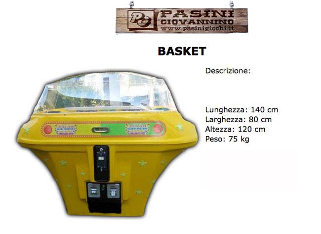 Basket ad aria Pasini Giochi