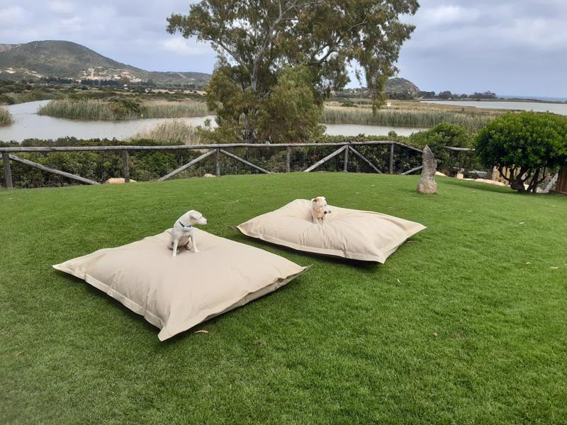 Cuscinone impermeabile da giardino
