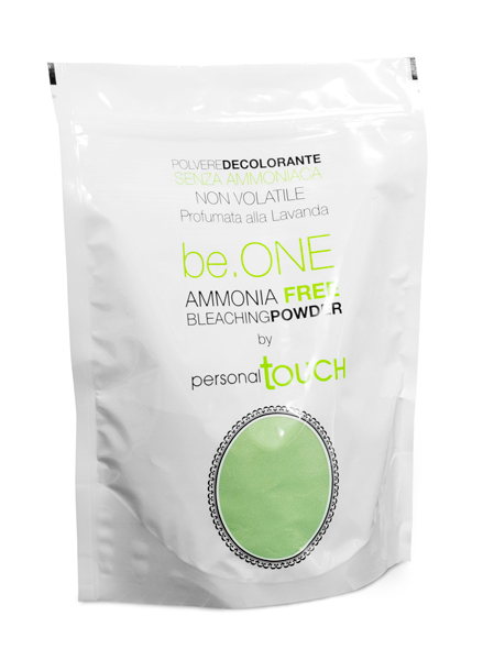 Non-volatile ammonia free bleaching powder be.ONE