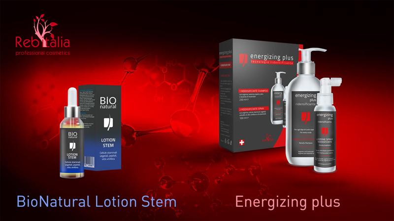 Kit ridensificante capelli Energizing Plus + Siero attivatore capelli Lotion Stem