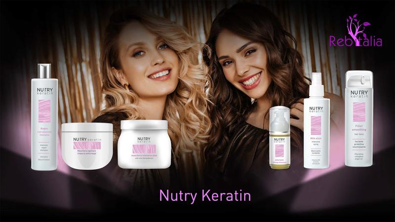 Trattamento intensivo alla cheratina Nutry Keratin