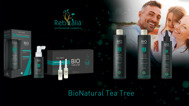 Prodotti rivitalizzanti per capelli: Lozione e Bagno Tea Tree