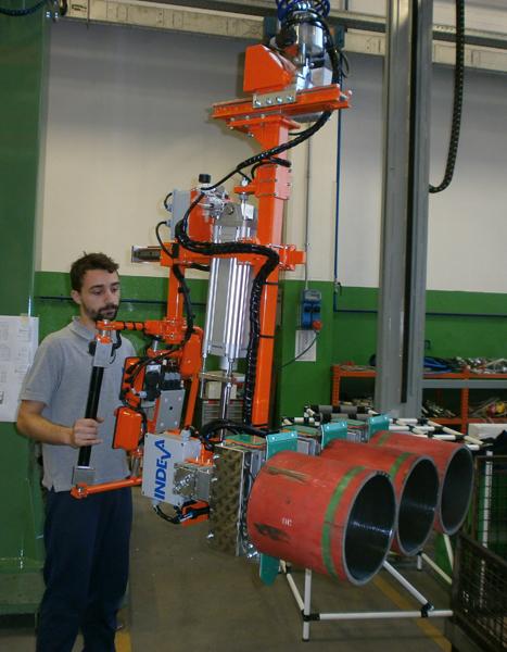 Manipolatori elettronici per industria meccanica