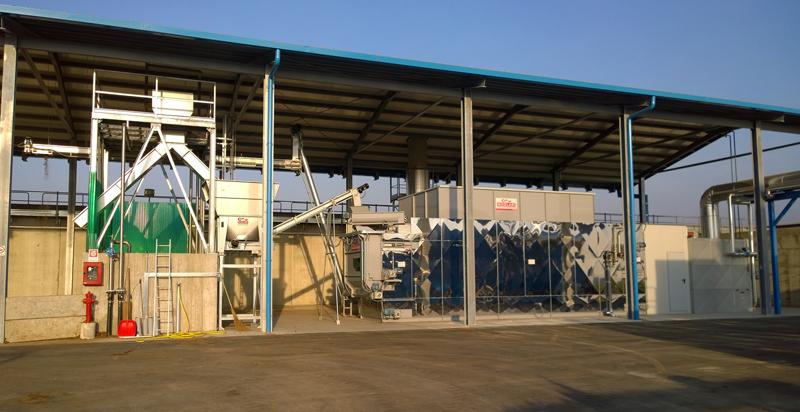 Essiccazione digestato e biomassa