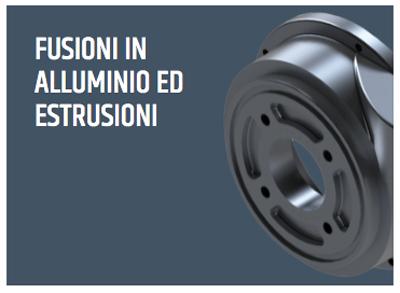 Produzione estera   Fusioni in alluminio ed estrusioni