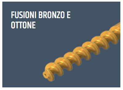Produzione estera   Fusioni in bronzo e ottone