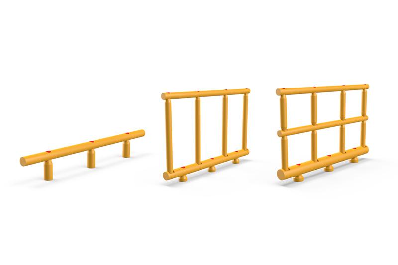 Guardrail antiurto