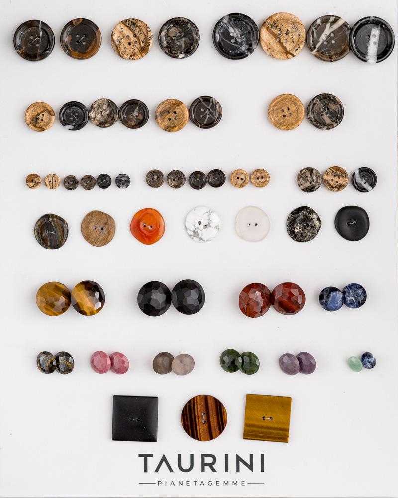 Bottoni in pietra naturale e sintetica
