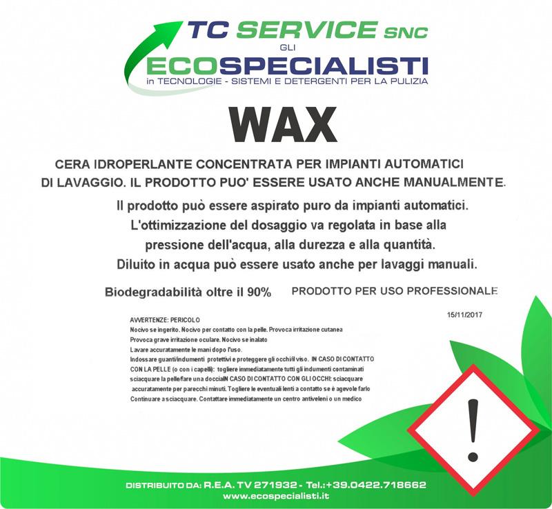 Cera protettiva WAX super concentrata