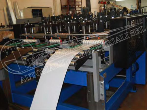 Profilatrici per tubi saldati e commerciali