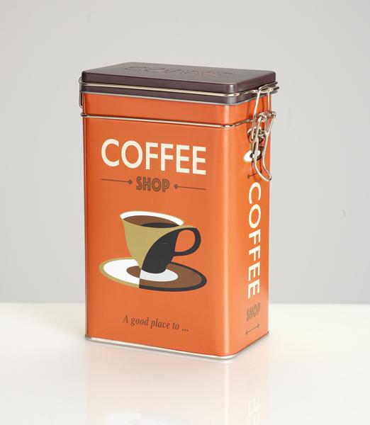 Barattoli caffè in metallo
