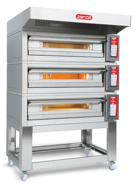 Forno statico professionale per pizza zanolli - Migliore marca forno da incasso ...