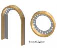 Controtelai infissi taglio termico isolamento termo-acustico FANZINI