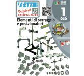 Elementi di serraggio e posizionatori per applicazioni industriali