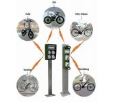 E-Bike charging systems: Electric bike charging columns