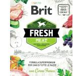 Natural foods for dogs with fresh meat Brit Fresh Meat