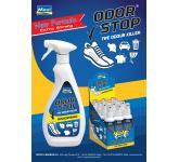 Дезинфицирующий спрей устраняет запахи Odor Stop