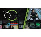 Omnidirectional platform for virtual reality Virtuix Omni