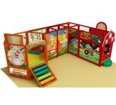 Indoor playgrounds and interactive areas for game rooms