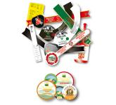 Certified labels for food contact
