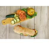 Bread from hamburger and frozen sandwich