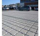Eco-sustainable drainage floors