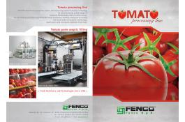 complete lines for tomato processing