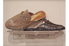 Pellame per calzature con effetto cangiante