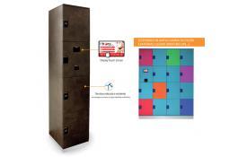 Ambient Control - NOVITA': Armadietti elettronici con sistema RFID i-BOXY