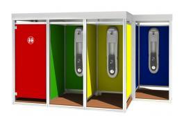 Outdoor: Cabina doccia modulare per stabilimenti balneari Mody