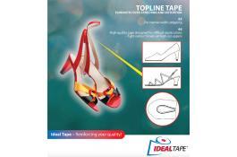 Nastri di rinforzo accoppiati per calzature Topline Tape