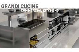 Arredo modulare inox per grandi cucine