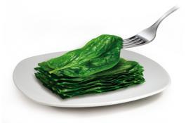 Verdure surgelate in foglia per foodservice Foglia a Foglia
