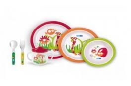 Набор пластиковой посуды Дети