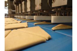 Linea industriale automatica per croissant