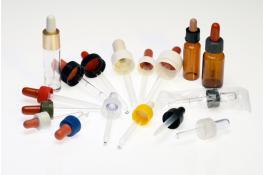 Contagocce per flaconi in plastica e vetro