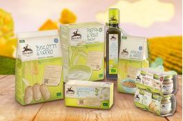 Alimenti biologici naturali per neonati Linea Baby