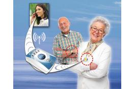 Sistema di teleassistenza portatile Sereno SOS Voce