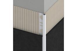 Square profiles for tiles alferquad