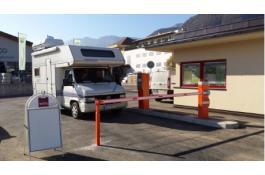 Gestione automatica area camper accessi veloci FULL IN OUT