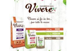 Alimenti completi con ingredienti naturali per cani Vivere