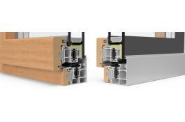 Sistemi per infissi in alluminio legno
